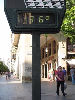 Termómetro A 36º