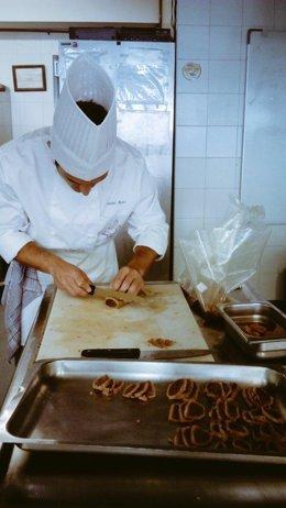 La Cónsula Málaga alumno escuela hostelería cocina gastronomía cocinero chef