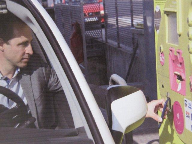 Proyecto de pago por el móvil en autopistas de Abertis