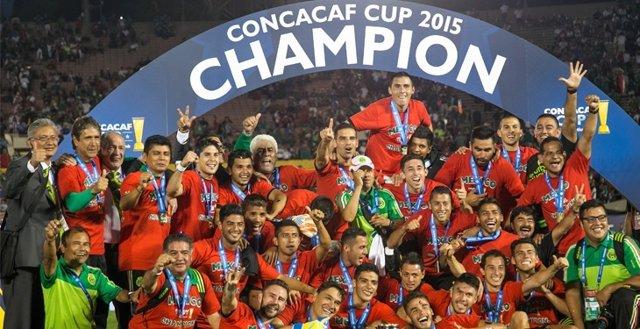 México campeón Concacaf
