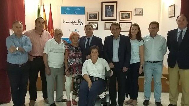 Reunión de Juan Ignacio Zoido con la asociación Bermejales 2000