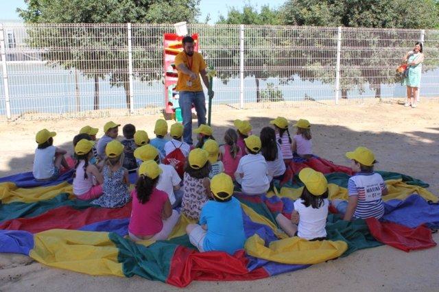 Programa de educación medioambiental de Lipasam