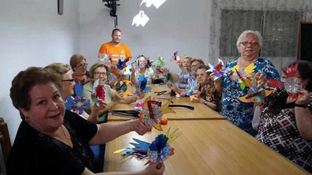 Actividad de Sadeco con personas mayores
