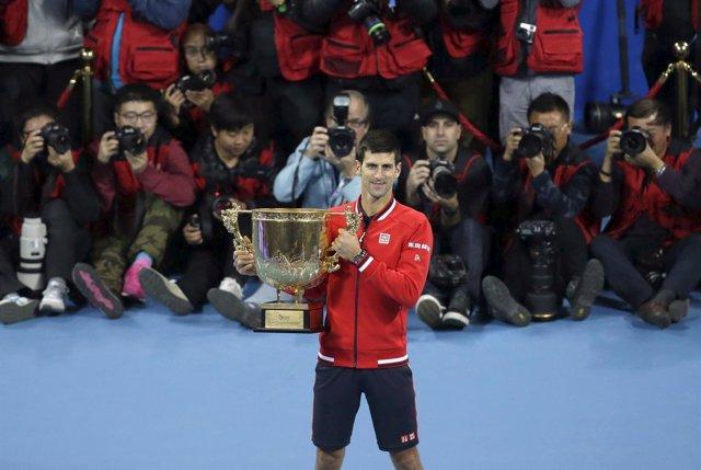 Novak Djokovic Pekín título