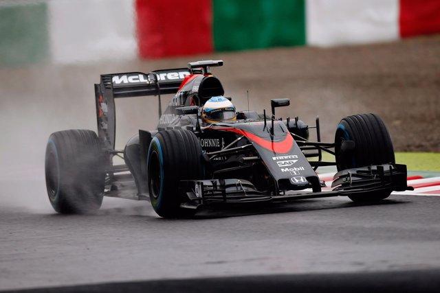 Fernando Alonso (McLaren) en Japón