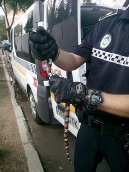Información Policía Local Captura Serpiente