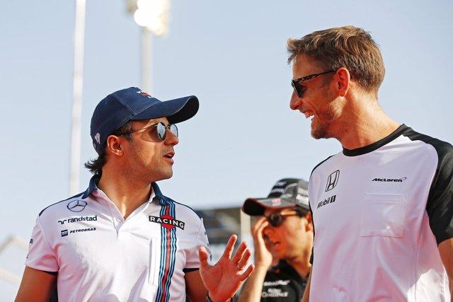 Felipe Massa, Jenson Button
