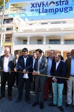 El conseller de Agricultura, Vicenç Vidal, inaugura la Mostra de la Llampuga