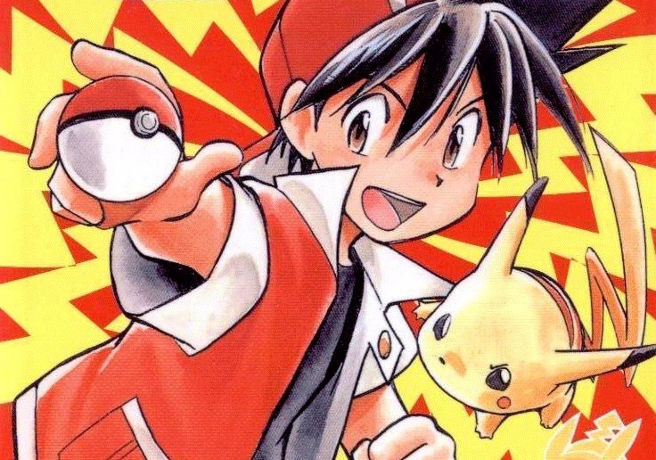 Imagen del manga de 'Pokémon'
