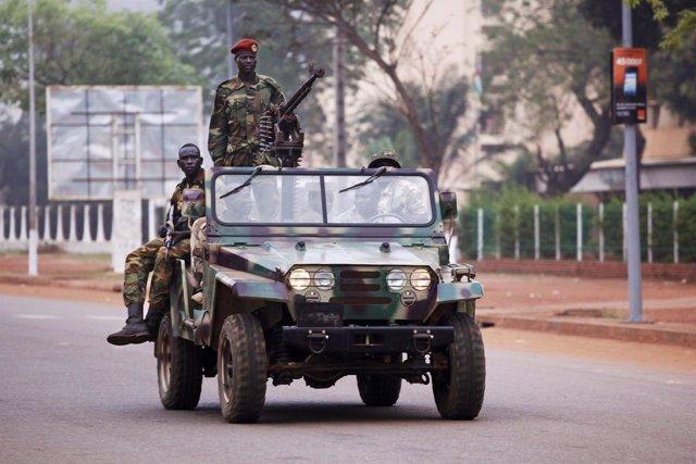 Soldados del Seleka en República Centroafricana
