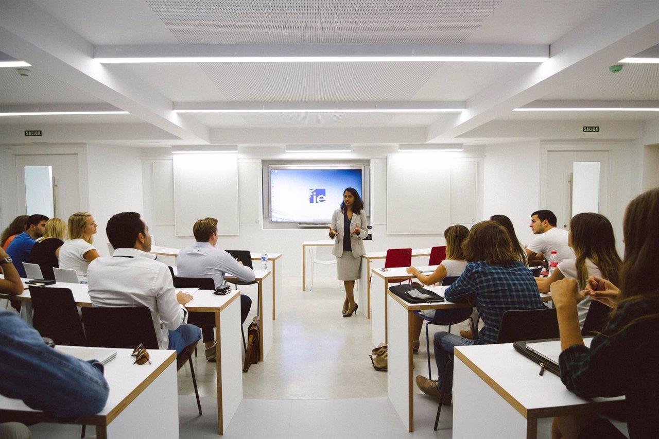 Aula de IE University.