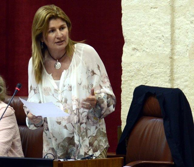 La coordinadora de Justicia del PP-A y diputada autonómica, Rosalía Espinosa