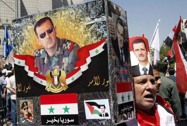 El presidente sirio, Bashar al-Assad