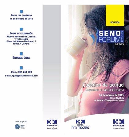 La Unidad de Mama del Hospital HM Modelo conmemora su III aniversario con la organización de 'Senoforum 2015'