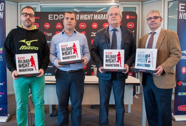 Presentación del EDP Bilbao Night
