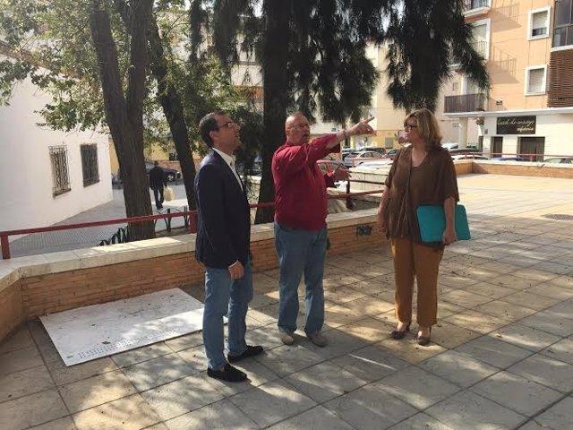 El portavoz del PP en el Ayuntamiento de Huelva, Ángel Sánchez.