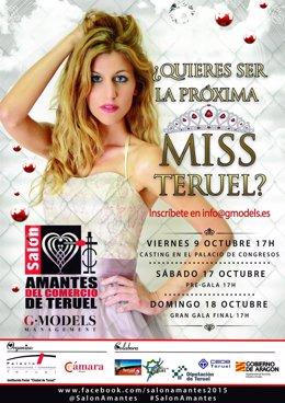 Cartel de Miss Teruel