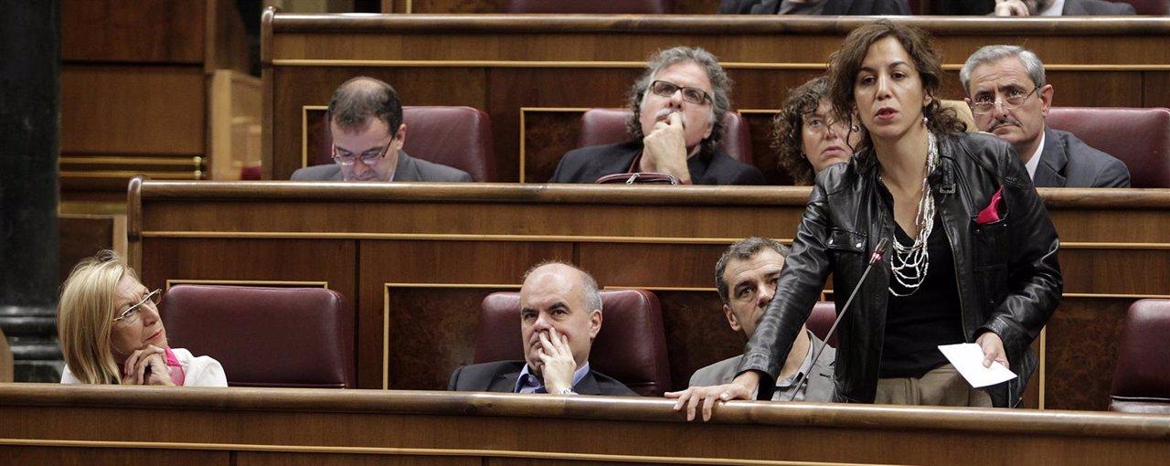 Rosa Díez, Carlos Martínez Gorriarán, Toni Cantó e Irene Lozano