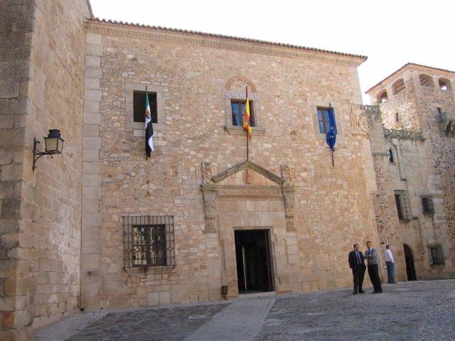 Palacio de la Diputación Provincial de Cáceres