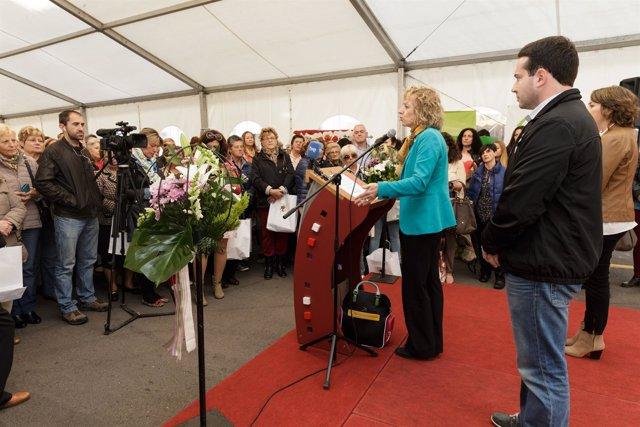 La vicepresidenta en los actos del Día de la Mujer Rural