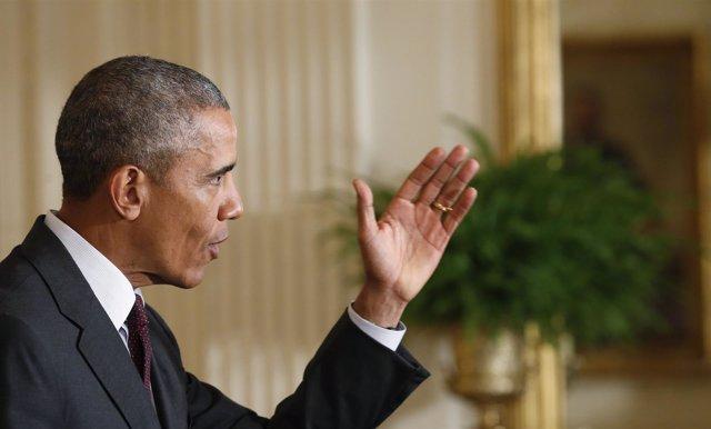 El presidente de Estados Unidos, Barakc Obama