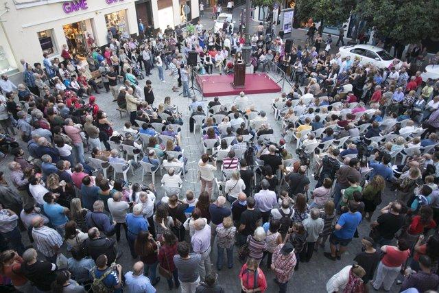 Asamblea '100 días' del equipo de Gobiero del Ayuntamiento de Cádiz