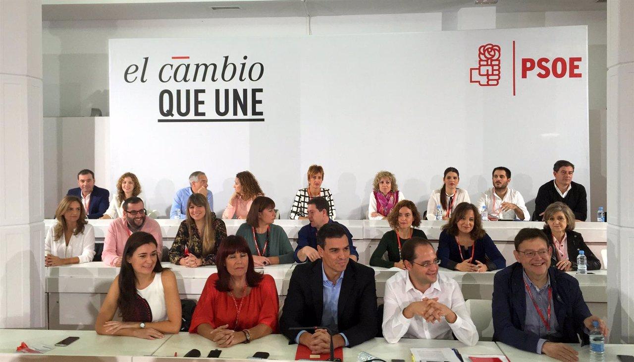 Comité Federal del PSOE el 17 de octubre