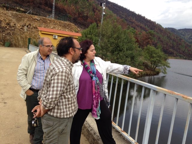 Begoña García en Sierra de Gata