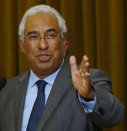 El secretario general del Partido Socialistas de Portugal (PS), António Costa