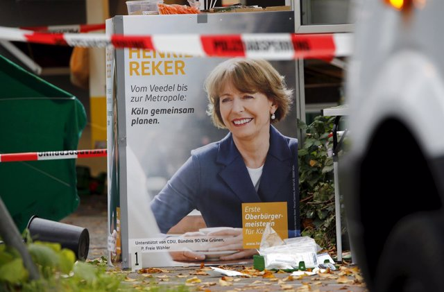Henriette Reker, apuñalada en el cuello en Colonia