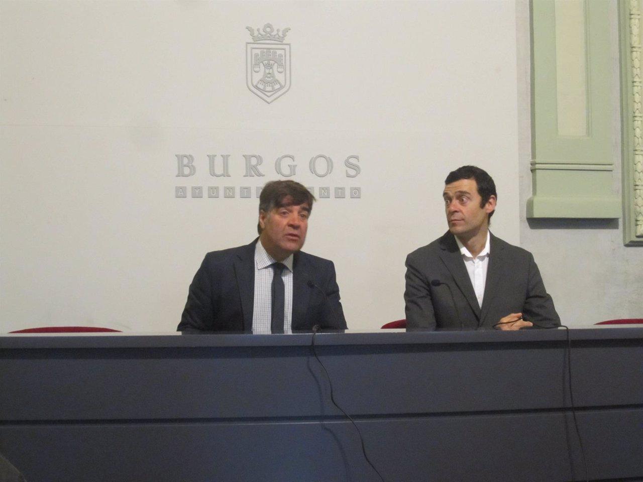 Presentación de los actos del décimo aniversario de la Sinfónica de Burgos.