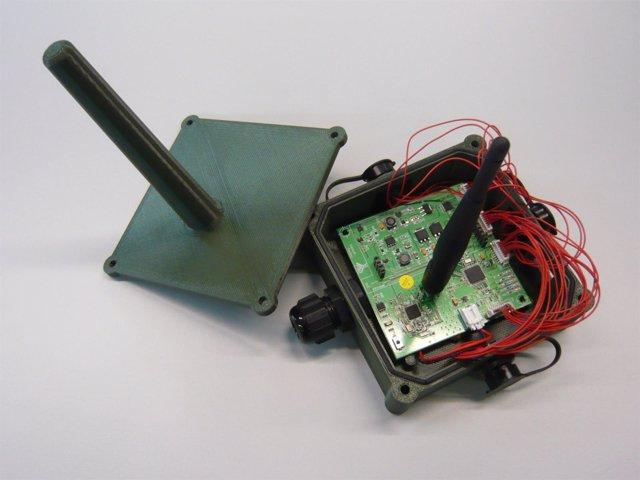 Imagen de uno de los sensores utilizados