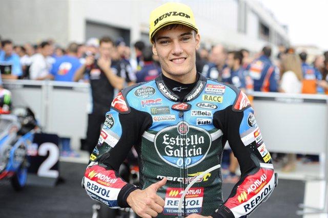 Navarro, Aragon Moto3 race 2015