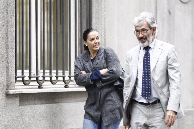 La senadora del PP y alcaldesa de Corral de Almaguer, Juliana Fernández