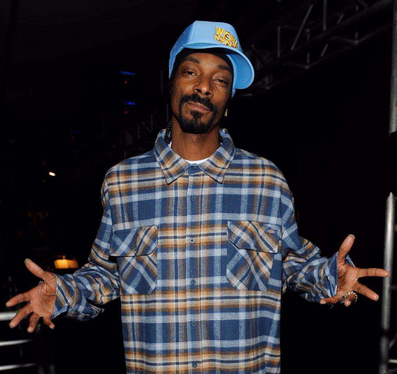 El rapero estadounidense Snoop Dogg