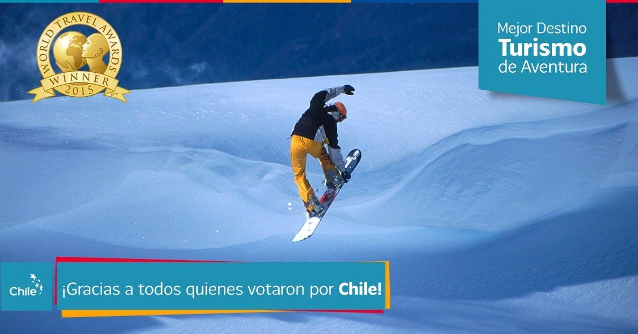 Chile turismo aventura