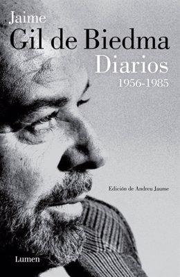 Portada de 'Diarios, 1956-1985', de Jaime Gil de Biedma