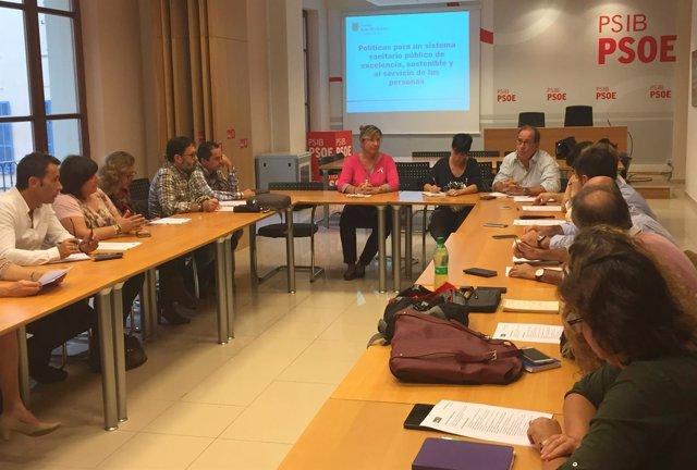 Patricia Gómez en la sectorial de Salud