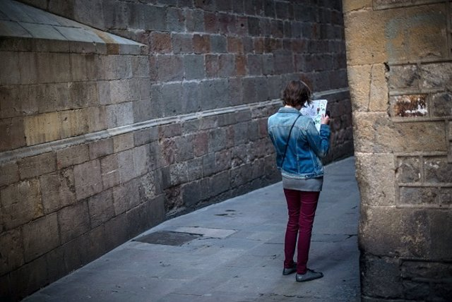 Turista Barcelona