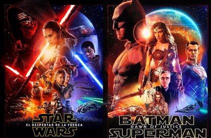 Imponente póster de Batman v Superman al estilo Star Wars