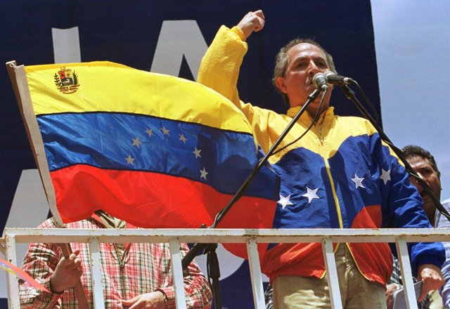 El alcalde de Caracas