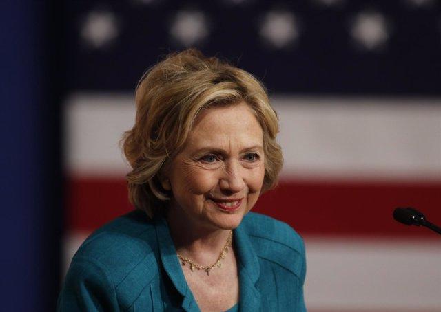 La exsecretaria de Estado de EEUU Hillary Clinton