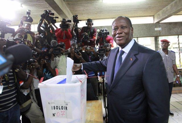 Presidente De Costa De Marfil, Alassane Ouattara