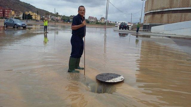 Cartagena inundada por las lluvias