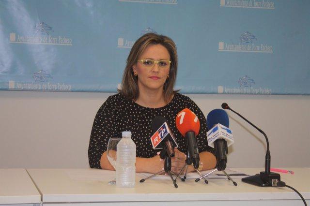 La alcaldesa de Torre Pacheco, Josefina Marín Otón
