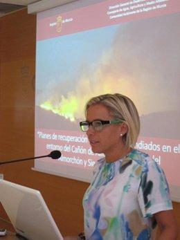 La consejera de Agua y Agricultura, Adela Martínez-Cachá