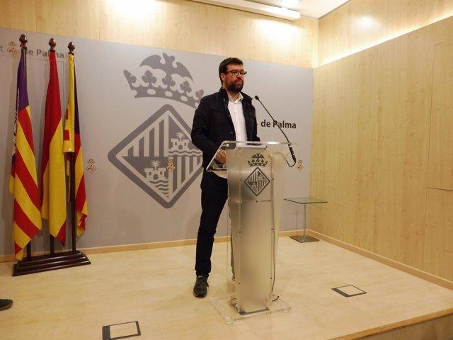 El teniente de alcalde de Modelo de Ciudad, Toni Niguera