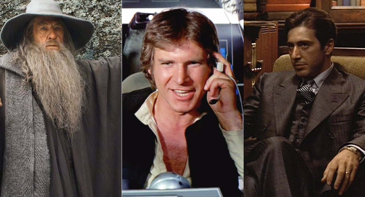 Gandalf, Han Solo y Michael Corleone
