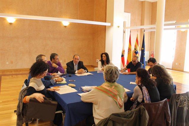 Reunión del Comité Autonómico de Emergencias en la DPZ
