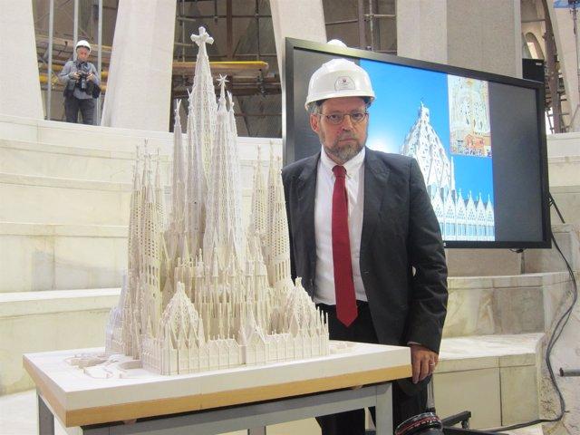 El arquitecto director de la Sagrada Familia, Jordi Faulí